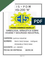 HSI SEÑAL