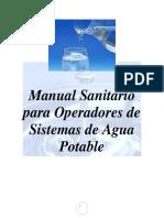 Manual Sanitario Para Operadores de Sistemas de Agua Potable