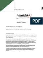 S5, A2, Análisis y Abstracción de Información El Financiamiento de Las Pymes en México