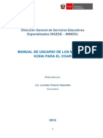 Manual de Usuario KOHA COAR