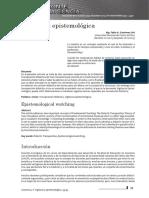 Vigilancia Epistemologica - Artigo
