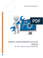 Manual de Mantenimiento Rsm