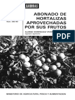Bonado de Hortalizas Aprovechar Su Fruto