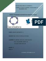 Programas Matematicos Geogebra y Maple