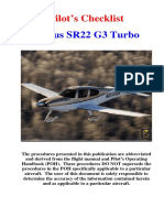 Checklist Cirrus SR22.pdf