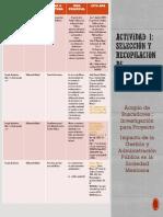 Actividad 1 Selección y Recopilación de Información