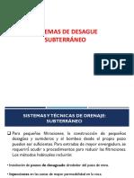 05.- Sistemas de Desague Subterraneo (1)