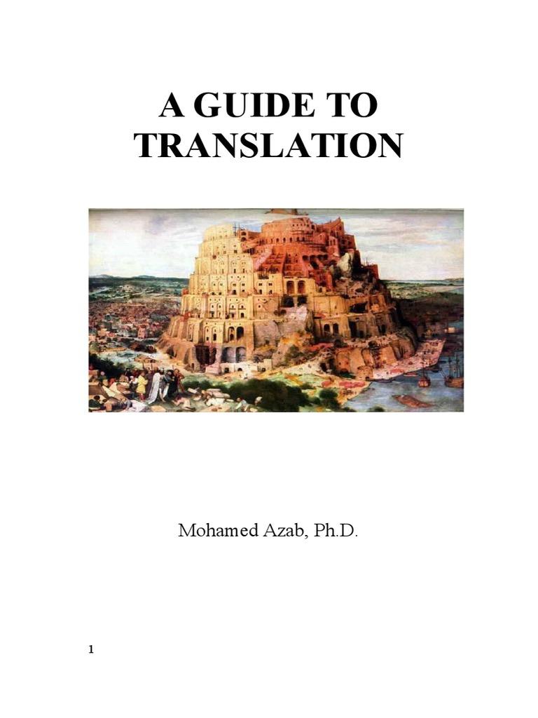 71195ddcf 289963105-A-Guideline-to-Translation-1.pdf   Translations   Military