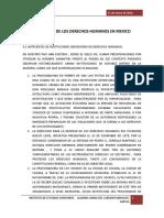 La Defensa de Los Derechos Humanos en Mexico0
