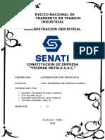 Constitucion Empresa