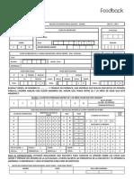 Cuestionario Encuesta Feedback & UDP 2010