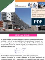 Metodo de Euler EDO 2017 -II