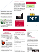 Alcool - folheto informativo