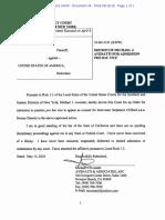 Cohen v USA Avenatti Pro Hac Vice