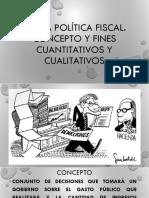 Política Fiscal.
