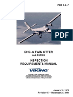 Twin Otter (All Series) Inspection Requirements Manual