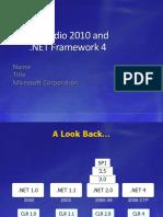 Lap Around the .NET Framework 4.pptx