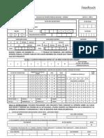 Cuestionario Encuesta Feedback & UDP 2009