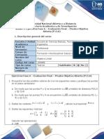 Anexo 3. Ejercicios Fase 6 Evaluación Final POA