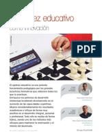 El ajedrez educativo como innovación
