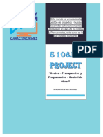 Plan de Estudio S10 MS-PROJECT