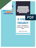 Plan de Estudio S10 MS-PROJECT