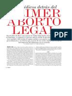 2018 02 10 - El Mercurio - Los médicos detras del primer aborto legal
