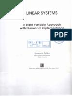 Linear Systems Raymond a DeCarlo Cap 1 Indice