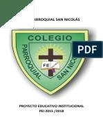 Pei Con Estandares Educativos i Final Colegio Parroquial