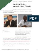 Gasto en Medios Del GDF_ Los Documentos Que Envió López Obrador - Aristegui Noticias