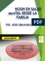 Prevencion de La Salud Mental Desde La Familia
