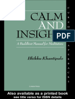 Bikkhu Khantipalo - Calm and Insight a Buddhist.pdf