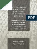 2017 Py Autoritarismo y Educación 1931 1954