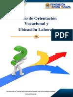 FOLLETO - Curso de Orientación Vocacional y Profesional