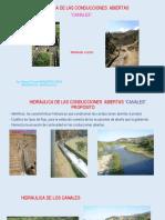 CANALES Propuestos