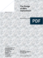 The Design of Vibro Replacement (Priebe Teory)