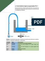 Actividad Semana 4 Controladores Lógicos Programables PLC 1