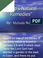 God's Natural Remedies