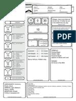 Firbolg - Character Sheet 1