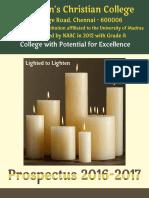 WCC Prospectus 2016-17
