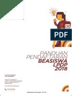 Panduan Beasiswa Reguler LPDP Tahun 2018