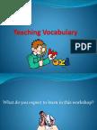 Teaching Vocabulary