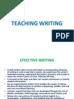 Teaching Writing 2