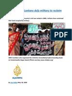 Displaced Sri Lankans defy military to reclaim homeland.docx