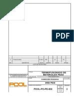 1.POOL-PO-PE-002 Rev.0 Electrofusionado de PEAD