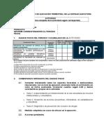 Formato de Informe Trimestral