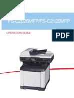 FS C MFP 2026 2126 Operation Guide