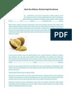 Ketahui Manfaat Dan Bahaya Durian Bagi Kesehatan