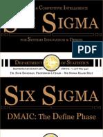 Six Sigma DMAIC Define 1