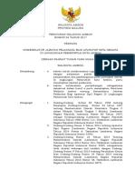 Perwali Nomenklatur Jabatan Pelaksana 2017